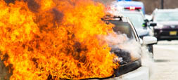 Electric & Hybrid Vehicle Fires
