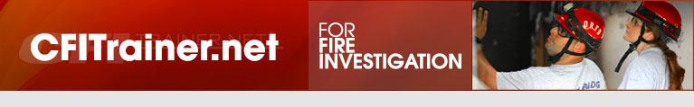 CFITrainer.Net For Fire Investigation